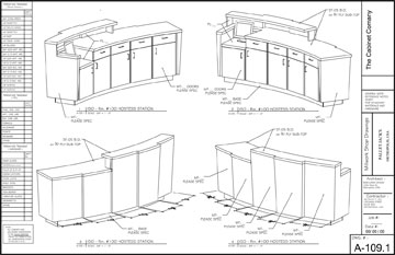 woodCAD|CAM - Submittal Drawings