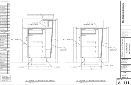woodCAD|CAM Shop Drawing