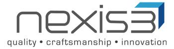 nexis 3 logo